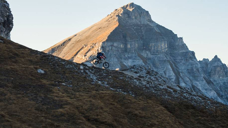 Alpines Biken