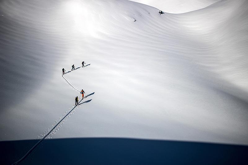 Der lange Weg über die Alpen